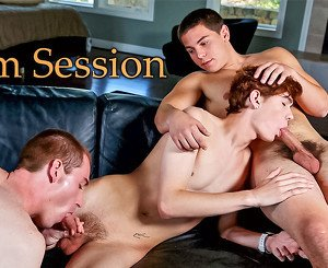 Josh A & Dakota White & Zeus Xavier in Jam Session XXX Video