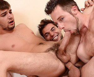 Aspen, Johnny Rapid, Kurt Wild, Scott Riley, Vadim Black in Son Of A Preacher Man Part 3 - JizzOrgy