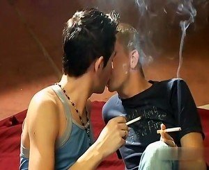Smoking twinks