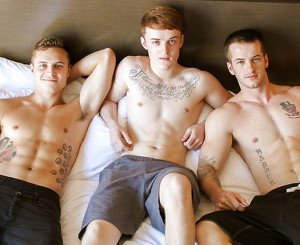 Dominic, Sawyer & Quentin Military Porn Video