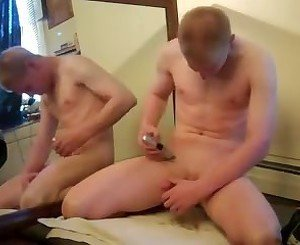 Shaved and Cum