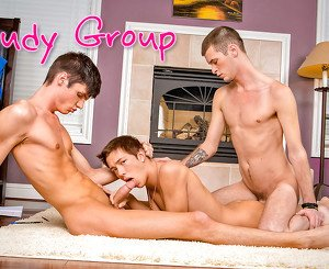 Sebastian Conally & Christian Collins & Luke Allen in Study Group XXX Video