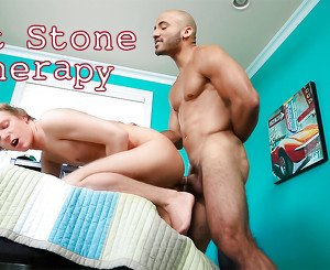 Riddick Stone & Evan Stone A in Hot Stone Therapy XXX Video