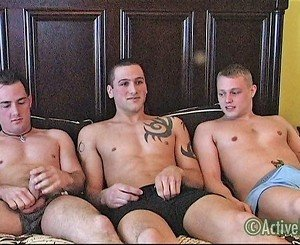 Chaz, Domenic & Jack Military Porn Video