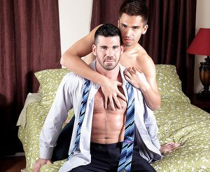 Ludo Sander & Billy Santoro in Forbidden Encounters Video