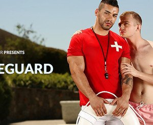 Arad & Archer Hart in The Lifeguard XXX Video