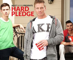 Johnny Torque & Cole Christiansen & Zach Taylor in Hard Pledge XXX Video