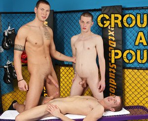 Jay Cloud & Anthony Price & Morgan Shades in Ground and Pound XXX Video