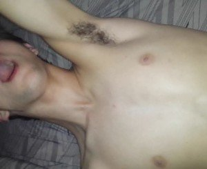 Fucking 18 year old moaning twink