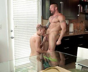 DylanLucas Twink Aroused by Older Hunk