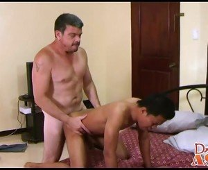 not daddy loves fucking sexy asian twink Alexes lovely ass